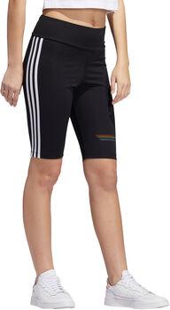 adidas Pride fietsshort Dames Zwart