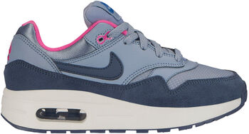 new styles 9ce5a 8f18c Nike Air Max 1 sneakers Meisjes Blauw