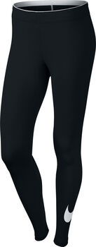 Nike Club Logo 2 legging Dames Zwart