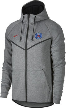 Nike Paris Saint Germain Sportswear Tech Fleece windrunner Heren Zwart