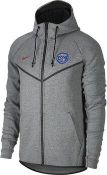 Nike Paris Saint Germain Sportswear Tech Fleece windrunner Heren Zwart