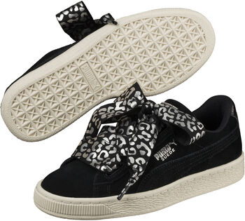 Puma Suede Heart Athluxe sneakers Meisjes Zwart