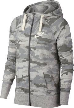 Nike Sportswear Gym Vintage hoodie Dames Bruin