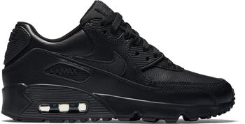 Nike Air Max 90 Leather - kids Jongens Zwart