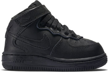 Nike Air Force 1 Mid sneakers Jongens Zwart