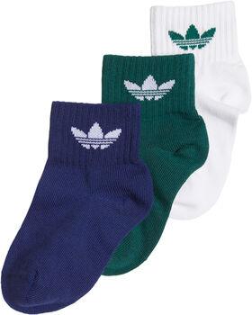 adidas kids enkelsokken (3 paar) Jongens Wit