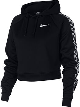 Nike Sportswear Crop Sweater Dames Zwart