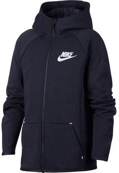 Nike Sportswear Tech Fleece hoodie Jongens Blauw