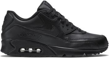 Nike Air Max 90 Leather sneakers Heren Zwart