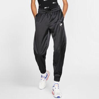 Nike Sportswear Air Satin trainingsbroek Dames Zwart