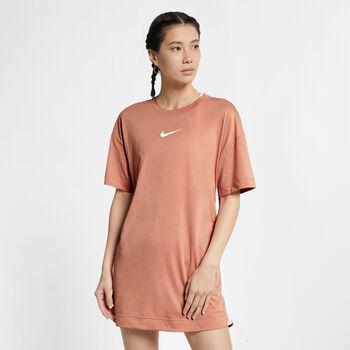 Nike Sportswear Swoosh jurk Dames Rood