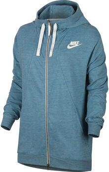 Nike Gym Hoodie Dames Blauw