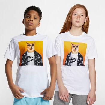 Nike Sportwear Futura Animal shirt Jongens Wit