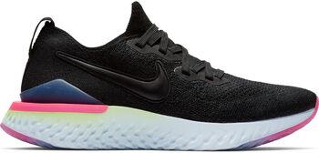 Nike Epic React Flyknit 2 hardloopschoenen Dames Zwart