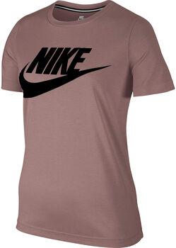 Nike Sportswear Essential shirt Dames Bruin