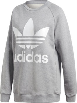 adidas Oversized sweater Dames Grijs