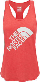 The North Face Extent II Logo shirt Dames Rood