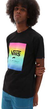 Vans Classic Print Box t-shirt Heren Zwart