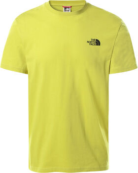 The North Face Simple Dome t-shirt Heren Groen