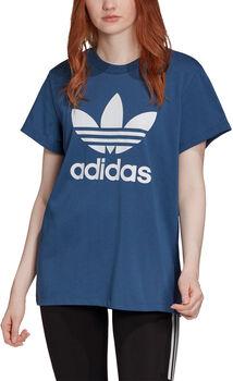 adidas Boyfriend Trefoil shirt Dames Blauw