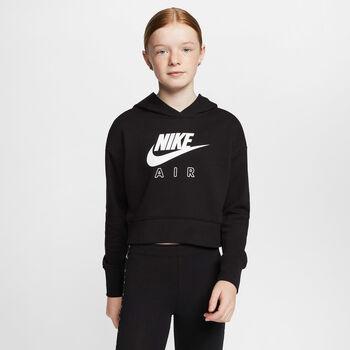 Nike Air kids hoodie Meisjes Zwart