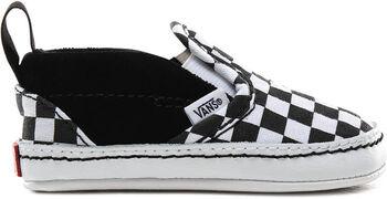 Vans Checker Slip-On kids sneakers Jongens Zwart