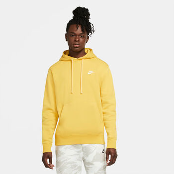 Nike Sportswear Club Fleece hoodie Heren Geel