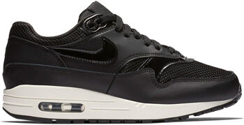 Nike Air Max 1 sneakers Dames Zwart