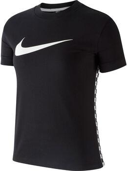 Nike Sportswear Hyp FM shirt Dames Zwart