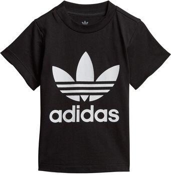 adidas Trefoil kids t-shirt Jongens Zwart