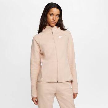 Nike Sportswear Tech Fleece hoodie Dames Bruin