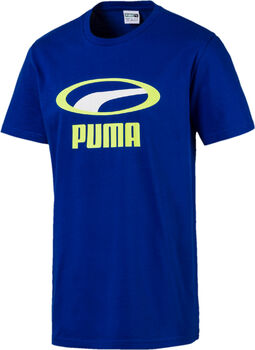 Puma Graphic XTG shirt Heren Blauw