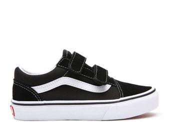 Vans Old Skool kids sneakers Jongens Zwart