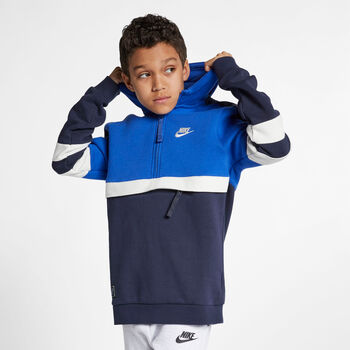 Nike Sportswear hoodie Jongens Blauw