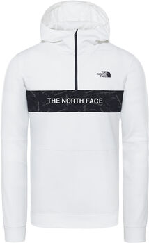 The North Face Train N Logo 1/4-Zip hoodie Heren Wit