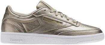 Reebok Club C 85 - Melted Metal Dames Wit
