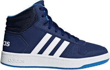 ADIDAS Hoops 2.0 Mid sneakers Blauw