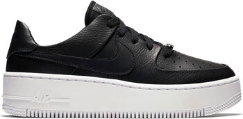 Nike Air Force 1 Sage Low sneakers Dames Zwart