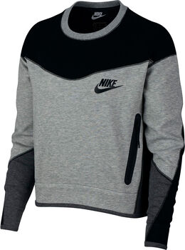 Nike Sportswear Tech Fleece sweater Dames Grijs