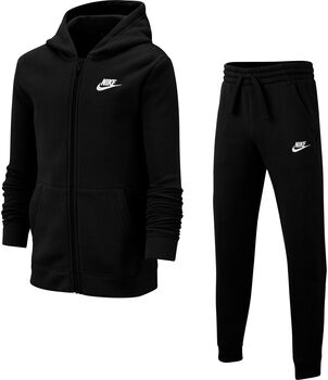 Nike Sportswear Core kids trainingspak Zwart