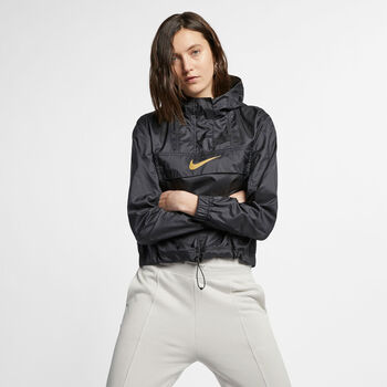 Nike Sportswear Animal hoodie Dames Zwart