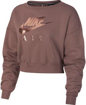 Nike Sportswear Rally shirt Dames Bruin