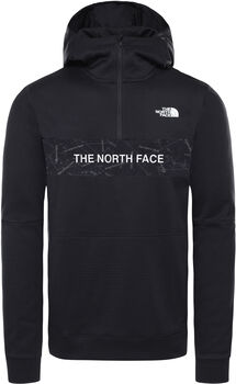 The North Face Train N Logo 1/4-Zip hoodie Heren Zwart