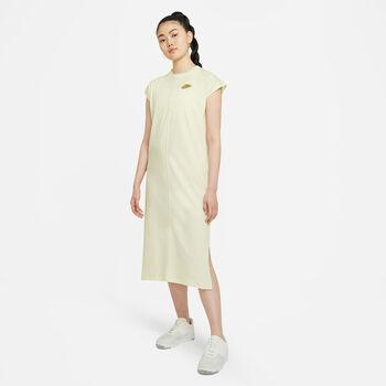 Nike Sportswear jurk Dames Geel