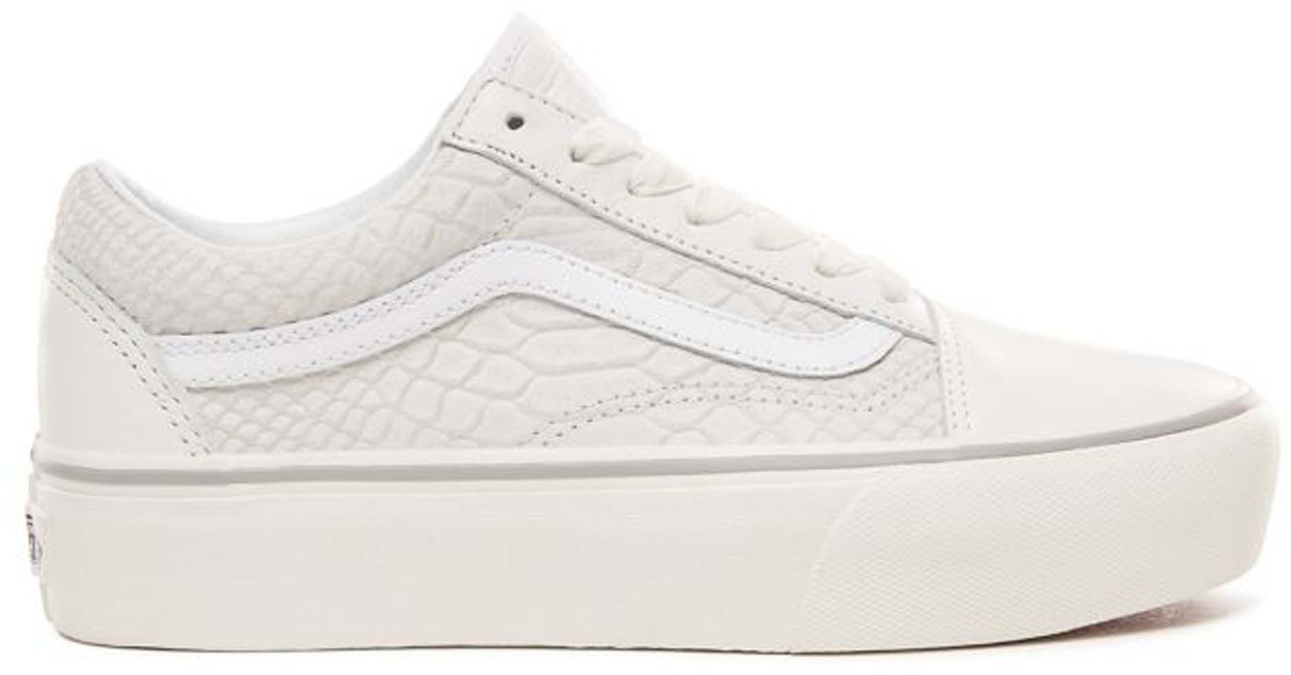 vans old skool platform heren