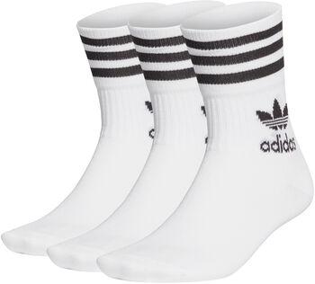 adidas Mid Cut sokken 3 paar Heren Wit