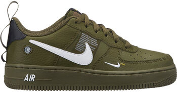 Nike Air Force 1 Lv8 Utility sneakers Jongens Groen