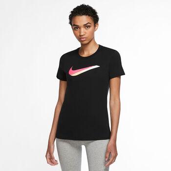 Nike NSW icon shirt Dames Zwart