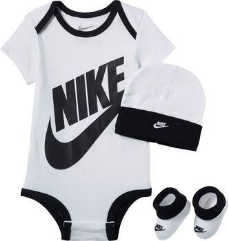 Nike Futura Logo kids romperset Wit