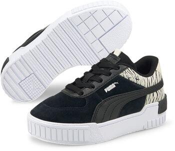 Puma Cali Sport Roar PS kids sneakers Meisjes Zwart